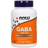GABA + B6 500 mg 100 caps NOW(USA)
