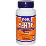 5-HTP 50 мг 90 капс NOW(USA)