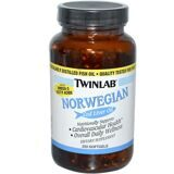 NORWEGIAN Cod Liver Oil 250 caps Twinlab (USA)