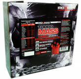 TURBO MASS Gainer 1,4 кг IRONMAN(россия)