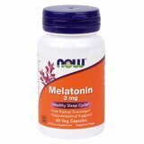 Melatonin 3mg 60 табл NOW